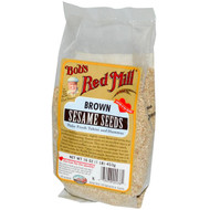 3 PACK of Bobs Red Mill, Brown Sesame Seeds, 16 oz (453 g)