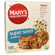 3 PACK of Marys Gone Crackers, Organic, Super Seed Crackers, 5.5 oz (155 g)