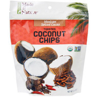 3 PACK of Made in Nature, Organic Coconut Chips, Spiced Cocoa Supersnacks, 3 oz (85 g)