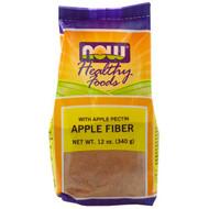 5 PACK of Now Foods,  Apple Fiber, 12 oz (340 g)