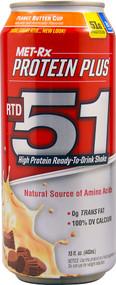 MET-R|X, Protein Plus RTD 51,  Peanut Butter Cup - 15 fl oz (5 PACK)