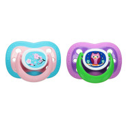 5 PACK of Playtex Baby, Binky, Silicone Pacifier, 0-6 Months, 2 Silicone Pacifiers