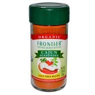3 PACK of Frontier Natural Products, Organic Cajun Seasoning, Louisiana Flavor, 2.08 oz (59 g)