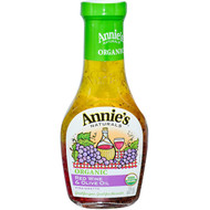 3 PACK of Annies Naturals, Organic Red Wine & Olive Oil Vinaigrette, 8 fl oz (236 ml)