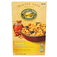 3 PACK of Natures Path, Organic Sunrise Crunchy Honey Cereal, 10.6 oz (300 g)