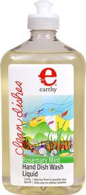 Earthy Clean Dishes Hand Dish Wash Liquid Rosemary Mint - 17 fl oz