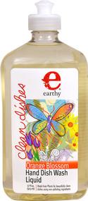 Earthy Clean Dishes Hand Dish Wash Liquid Orange Blossom - 17 fl oz