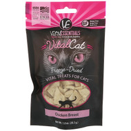 3 PACK OF Vital Essentials, Vital Cat, Freeze-Dried Treats For Cats, Chicken Breast, 1.0 oz (28.3 g)