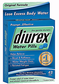 3 Pack of Diurex Water Pills Original Formula - 42 Pills