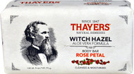 5 PACK of Thayers Witch Hazel Aloe Vera Formula Body Bar Rose Petal - 5 oz