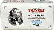 5 PACK of Thayers Witch Hazel Aloe Vera Formula Body Bar Peppermint - 5 oz