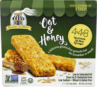 5 PACK of Bakery On Main Gluten Free Granola Bars  Oat & Honey - 5 Bars