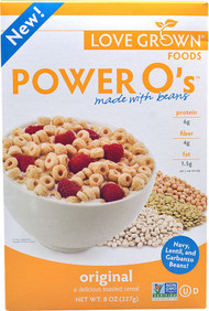 Love Grown Foods, Power Os Cereal,  Original - 8 oz -5 PACK
