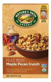Natures Path, Organic Flax Plus Cereal,  Maple Pecan Crunch - 11.5 oz -5 PACK