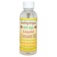 Healthy Origins, 100% Virgin Liquid Coconut Oil, 10 fl oz (296 ml)