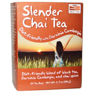 3 PACK of Now Foods, Slender Chai Tea, 24 Tea Bags, 1.7 oz (48 g)