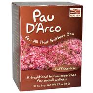 3 PACK of Now Foods, Real Tea, Pau D'Arco, Caffeine-Free, 24 Tea Bags, 1.7 oz (48 g)