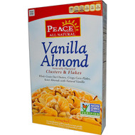 Peace Cereal, Clusters & Flakes, Vanilla Almond, 11 oz (312 g)
