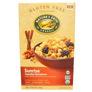 3 PACK of Natures Path, Organic Sunrise Crunchy Cinnamon Cereal, 10.6 oz (300 g)
