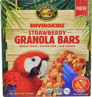 5 PACK of Natures Path Envirokidz Granola Bars  Strawberry - 5 oz