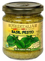 Meditalia, Basil Pesto - 6 oz -5 PACK