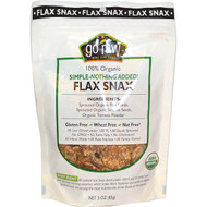 3 PACK of Go Raw, Organic Flax Snax, Simple-Nothing Added!, 3 oz (85 g)