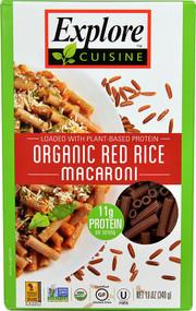 Explore Cuisine Organic Red Rice Macaroni - 12 oz