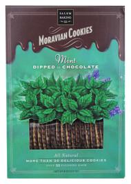 Salem Baking, Moravian Cookies,  Mint Dipped in Chocolate - 8 oz