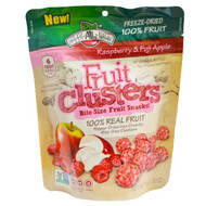 5 PACK of Brothers-All-Natural, Fruit Clusters, Bite-Size Fruit Snacks!, Raspberry & Fuji Apple, 1.25 oz (35 g)