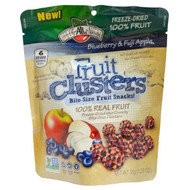 Brothers-All-Natural, Fruit Clusters, Bite-Size Fruit Snacks!, Blueberrry & Fuji Apple, 1.25 oz (35 g)