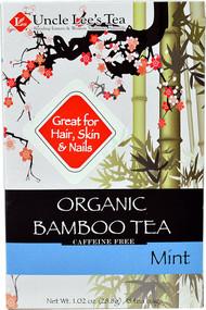 5 PACK of Uncle Lees Organic Bamboo Tea  Mint - 18 Tea Bags