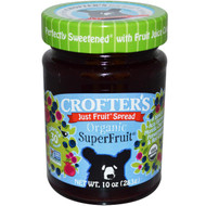 3 PACK of Crofters Organic, Organic, Just Fruit Spread, Superfruit, 10 oz (283 g)