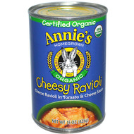 3 PACK of Annies Homegrown Organic Cheesy Ravioli In Tomato & Cheese Sauce -- 15 oz
