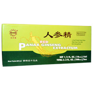 Superior Trading Company, Red Panax Ginseng Extractum, 10 Vials, 10 C.C. Each