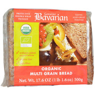 3 PACK of Bavarian Breads, Organic Multi-Grain Bread, 17.6 oz (500 g)