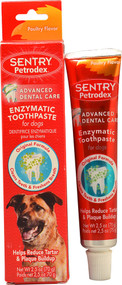 3 Pack of Petrodex Enzymatic Toothpaste for Dogs Poultry - 2.5 oz