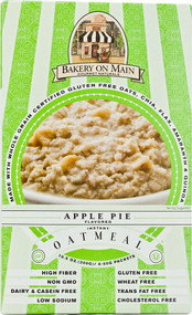 Bakery On Main, Instant Oatmeal Gluten Free,  Apple Pie - 6 Packets -5 PACK
