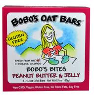 BoBos Oat Bars, BoBos Bites,  Peanut Butter & Jelly - 5 Bars -5 PACK