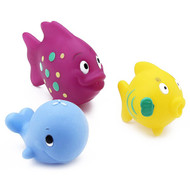 3 PACK OF Nuby, Fun Fish Squirters, 6+m, 3 Pack