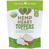 3 PACK OF Manitoba Harvest, Hemp Heart Toppers, Hemp Seed Mix, Onion, Garlic & Rosemary, 4.4 oz (125 g)