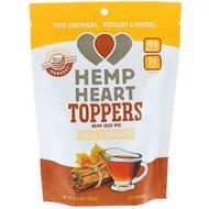 3 PACK OF Manitoba Harvest, Hemp Heart Toppers, Hemp Seed Mix, Maple & Cinnamon, 4.4 oz (125 g)