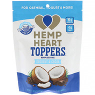 3 PACK OF Manitoba Harvest, Hemp Heart Toppers, Hemp Seed Mix, Coconut & Cocoa, 4.4 oz (125 g)