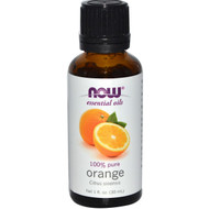 3 PACK of Now Foods, Essential Oils, Orange, 1 fl oz (30 ml)