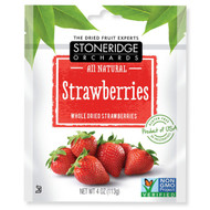 3 PACK of Stoneridge Orchards, Strawberries, Whole Dried Strawberries, 4 oz (113 g)