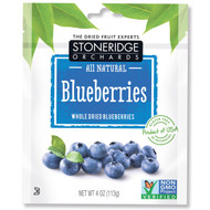 3 PACK of Stoneridge Orchards, Blueberries, Whole Dried Blueberries, 4 oz (113 g)