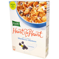 3 PACK of Kashi, Heart to Heart, Oat Flakes & Blueberry Clusters, 13.4 oz (380 g)