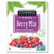 3 PACK of Stoneridge Orchards, Berry Mix, Whole Dried Mixed Berries, 5 oz (142 g)