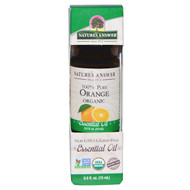3 PACK of Natures Answer, Organic Essential Oil, 100% Pure Orange, 0.5 fl oz (15 ml)