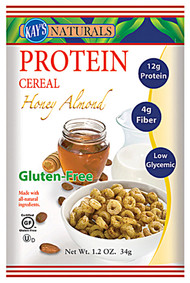 Kays Naturals Protein Cereal Gluten Free Honey Almond - 9.5 oz