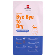 3 PACK OF Leaders, Bye Bye to Dry, Intense Hydrating Mask, 1 Mask, .84 fl oz (25 ml)